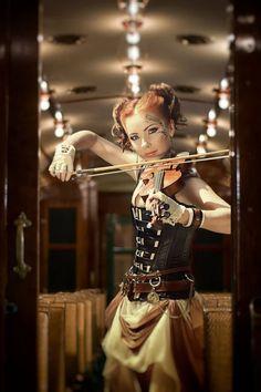 Steampunk : The Passenger Steampunk Cosplay, Mode Steampunk, Gothic Steampunk, Steampunk Clothing, Steampunk Fashion, Steampunk Outfits, Steampunk Dress, Steampunk Wedding, Renaissance Clothing
