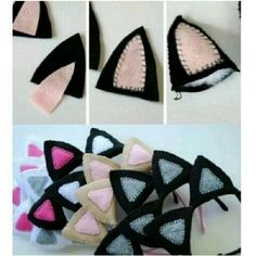 Imagem de diy, cat, and ear