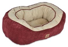 Chevron Gusset Daydreamer Burgundy Dog Bed >>> For more information, visit image link.