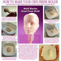Mold making - Could be used in many crafting applications. - for those lazy days I suppose... or twins.