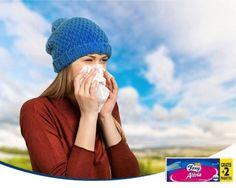 Si estás sufriendo una gripe o un resfriado, recuerda usar cada vez un pañuelo, para que el virus no vuelva a entrar en contacto con tu nariz, ojos, boca... los pañuelos Foxy Alivia, además, tienen un bálsamo nasal con vitamina E para no irritar tu nariz.