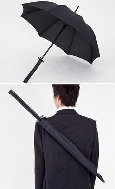 Samurai umbrella. Now that I know this exists, I must have one.