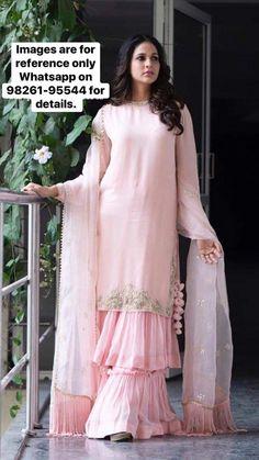 best 12 page 378513543676994571 skillofking com 666532813583781277 Indian Gowns Dresses, Pakistani Dresses, Indian Outfits, Sarara Dress, Gharara Designs, Sleeves Designs For Dresses, Indian Designer Suits, Pakistani Dress Design, Party Wear Dresses