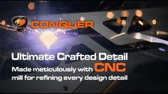 COUGAR CONQUER - Specification Introduction - YouTube https://www.youtube.com/watch?v=xGLGI8ZDByw #CougarGaming #CougarEsports