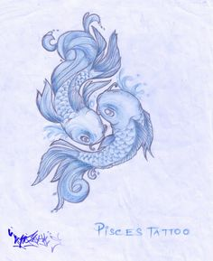 Love theses fish! Gonna be the concept_Pisces tattoo idea
