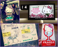 Contrary to popular belief, Hello Kitty herself does not pilot her own plane. And yes this is a FOR REAL airplane with stars, music notes and happy little cartoons on the outside of it. First things first – Air Hello … Continue reading →