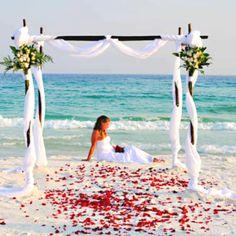 Gorgeous for a Kauai wedding...
