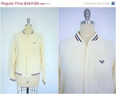 SALE  Vintage Windbreaker Jacket / Mid-Century by ThisBlueBird