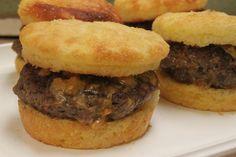 Gluten Free cheese stuffed hamburgers | Small Town Living in Nevada