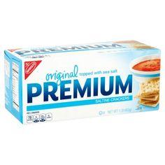 70 cal/5 crackers  Nabisco Original Premium Saltine Crackers, 16 oz Image 2 of 6