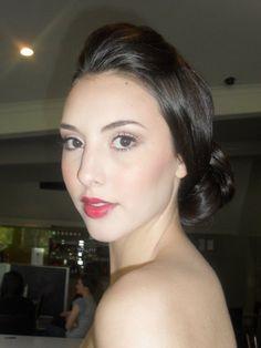 Bridal hair & makeup by All Things Girlie hair & makeup artistry