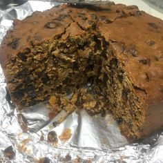 Christmas is officially on its way when the fruit cakes come out. Going to attempt to make a healthier version of this next week. #christmas #christmascake #fruitcake