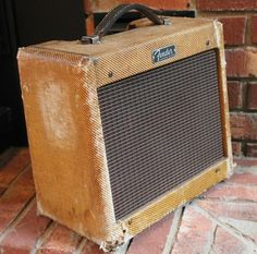 Fender Champ 1962 Tweed #6stringsboutique #amplifier