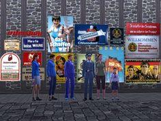 Sims 4 - DDR Walltattoo Set 3