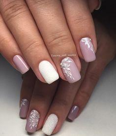 48 Ideas wedding nails for bride gel lavender - Nails Wedding Nails For Bride, Bride Nails, Wedding Nails Design, Manicure Colors, Nail Manicure, Nail Colour, Pink Nails, My Nails, Pretty Nails