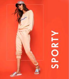 Web Layout, Layout Design, Web Design, Editorial Design, Editorial Fashion, Moving Text, Fb Banner, Retail Branding, Womens Sports Fashion