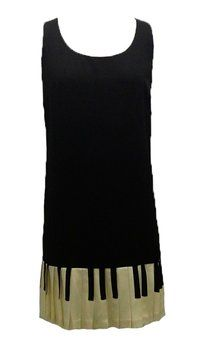 SOLD! Vintage 90's Moschino Cheap and Chic Piano Pleat Shift Sheath Dress