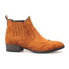72103 Kadın Western Booties