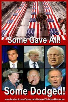 CHRISTIAN REPUBLICANS!! LOOK AT THE C O R R U P T SCUM YOU LOOK TO FOR LEADERSHIP. UNPATRIOTIC, CORRUPT S C U M B A G S, A L L!!
