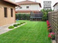 Kertépítés Curb Appeal, Tulips, Costa, Ale, Sidewalk, House Design, Flowers, Decor, Yards