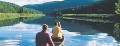 There is no better way to see Vermont's breathtaking landscape than from a canoe or kayak.