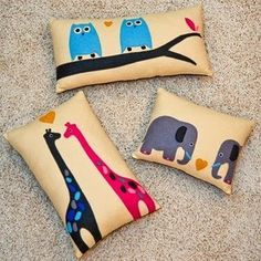 noah's ark pillows