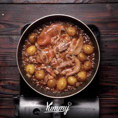 Meat Recipes, Asian Recipes, Cooking Recipes, Malay Food, Good Food, Yummy Food, Western Food, Malaysian Food, Indonesian Food