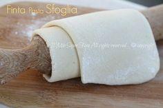 Come fare LA FINTA PASTA SFOGLIA #pastasfoglia in casa facilmente ;) Ecco la #ricetta della finta pasta sfoglia ;)