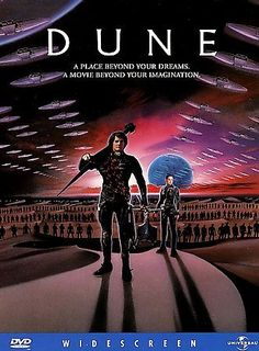 Dune [PN1997 .D86 1998] MacLachlan is Paul Atreides, son of Duke Leto, who struggles with the native inhabitants of the dry planet Arrakis (Dune) to overthrow the terrible Baron Barkonnen and his family and control the special product of the planet, a mind-altering spice produced by giant sand worms