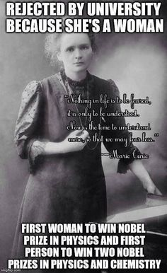 Marie Curie, the epitome of real *WOMAN* power. The power of the woman. Marie Curie, the epitome of real *WOMAN* power. The power of the woman. Great Women, Amazing Women, New People, Good People, People Leave, Amazing People, Amazing Things, Famous People, Prix Nobel