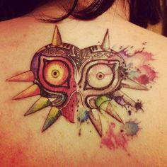 Majora's Mask Tatto [[Really like this one]]