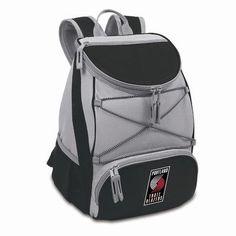 Picnic Time 23 Can NBA Backpack Cooler Color: Black, NBA Team: Portland Trailblazers