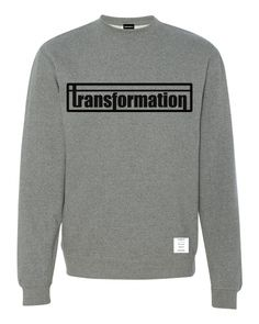 KingNYC Transformation crewneck  http://shop.kingnyc.com