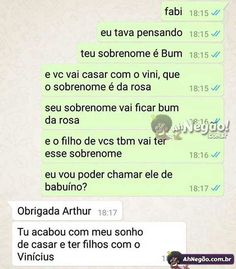 """Posso chamar seu filho se babuíno?"" Funny Photos, Funny Images, Little Memes, Meme Maker, Dumb People, Im Not Okay, Try Not To Laugh, Best Memes, Cringe"