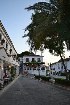 Plaza de la Constitucion, Mijas, Spain
