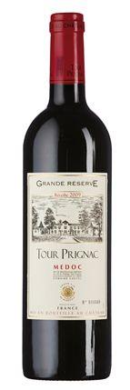 Château Tour Prignac 2009: Duft nach dunklen Kirschen, Minze, dunkler Schokolade und Kaffee, dichter und extraktsüßer Geschmack mit reichhaltiger Fülle, feine Röstnote, straffe Gerbstoffe.