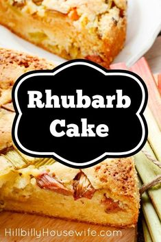 Here's my recipe for an old-fashioned German Rhubarb cake. Always a big hit around here with a cup of coffee.