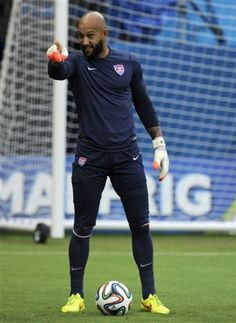 Tim Howard! Dude is a MONSTER! (and super sexy!)  He had a FANTASTIC/HISTORIC game today! #USA