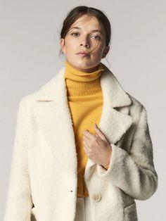 MASSIMO DUTTI 249€ Découvrez ma séléction de 40 manteaux femme à porter pour la nouvelle saison Automne Hiver 2017-2018 !