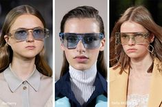 Eyewear junkies, gather around because the spring / summer 2020 sunglasses trends are here! As the days get longer and the sun gets stronger, good eye protection is a must, and the spring 2020 sunglas Yellow Lens Sunglasses, Summer Sunglasses, Tortoise Shell Sunglasses, Oval Sunglasses, Sunglasses Women, Eyewear Trends, Trending Sunglasses, Fashion Colours, Cool Eyes