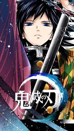 Imágenes random de Kimetsu no Yaiba - Giyu Tomioka Anime Naruto, Manga Anime, Anime Demon, Otaku Anime, Manga Art, Anime Guys, Emo Guys, Anime Wolf, Demon Slayer