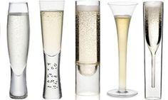Moderne čaše za šampanjac