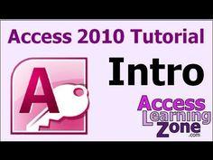 Microsoft Access 2010 Tutorial