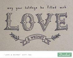Printables for Christmas