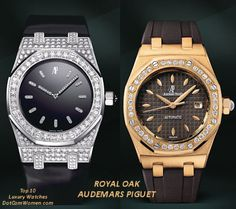 ROYAL OAK Ladies by Audemars Piguet Ladyline Watches... as requested