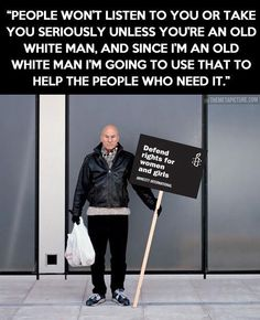 Sir Patrick Stewart...this is why I love this man