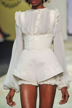 Ulyana Sergeenko Spring 2013 Haute Couture details