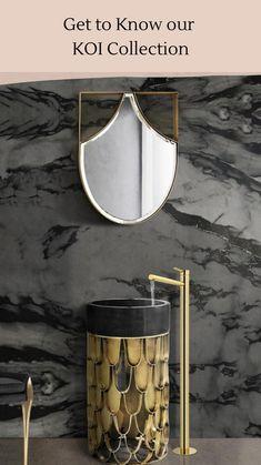 Dark Bathrooms, Modern Bathroom, Master Bathroom, Luxury Bathrooms, Bathroom Trends, Bathroom Inspo, Bathroom Ideas, Bathroom Inspiration, Luxury Mirror