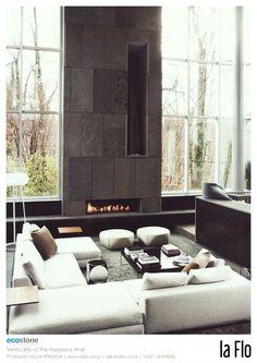 Design idea: wall. #stoneveneer