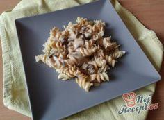 Nejlepší recepty na těstoviny | NejRecept.cz Tortellini, Penne, Pasta, Oatmeal, Lunch, Bread, Breakfast, Fit, Recipes